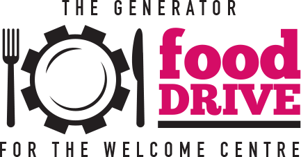 The Generator Food Drive Logo