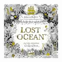 Lost Ocean Colouring Book ($15)