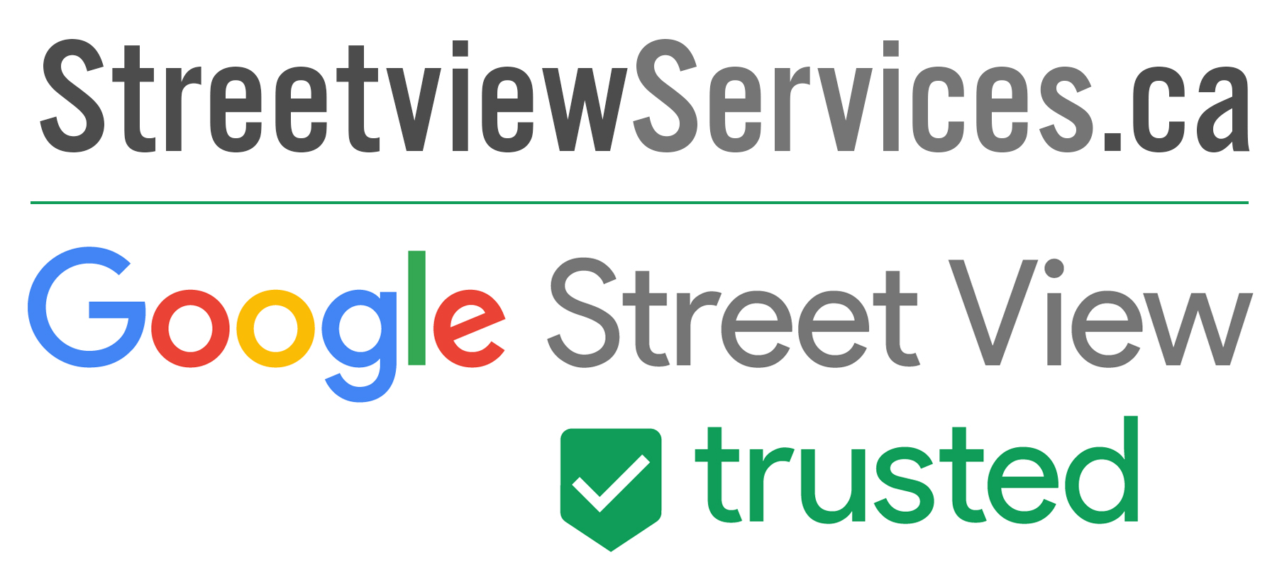 StreetviewServices.ca. Google Street View. Trusted