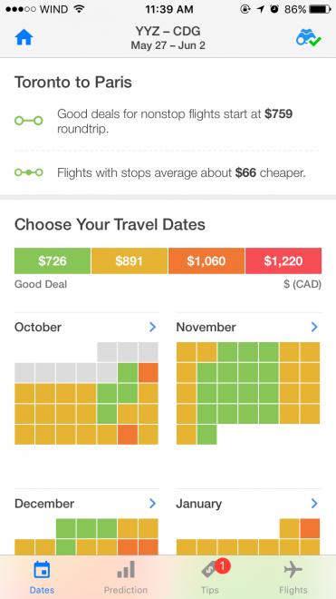 Trip Dates
